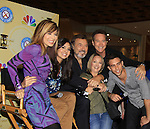 Days Of Our Lives National Tour - Lauren Koslow, Camila Banus, Joseph Mascolo, Drake Hogestyn, Suzanne Rogers, Blake Berris pose with fan on September 15, 2012 at The Shops at Mohegan Sun, Uncasville, Connecticut. (Photo by Sue Coflin/Max Photos)