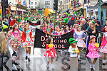 The Irwin school of dancing parade in Killarney on Monday