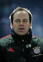 Fussball Bundesliga Saison 2011/2012 26. Spieltag Hertha BSC Berlin - FC Bayern Muenchen Manager Christian NERLINGER (FCB).