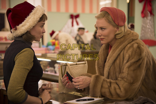 Rooney Mara, Cate Blanchett<br /> in Carol (2015) <br /> *Filmstill - Editorial Use Only*<br /> CAP/NFS<br /> Image supplied by Capital Pictures