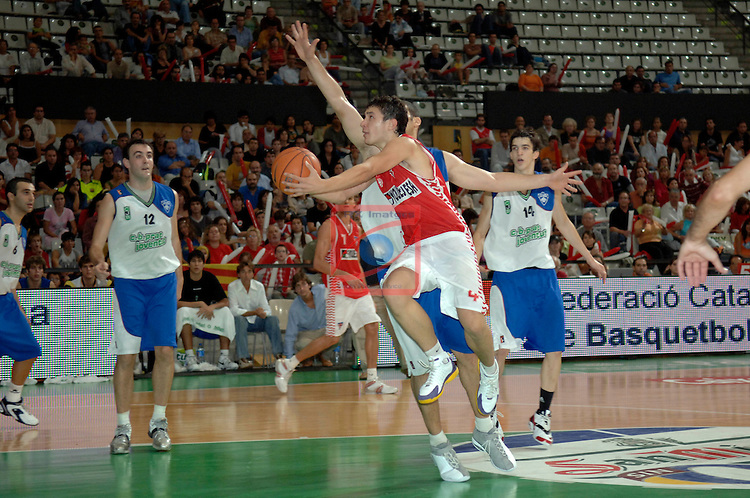 Sergio Llull. Finques Olesa vs CB Prat: 66-70 - FINAL XXIV LLIGA CATALANA EBA 2005/2006.