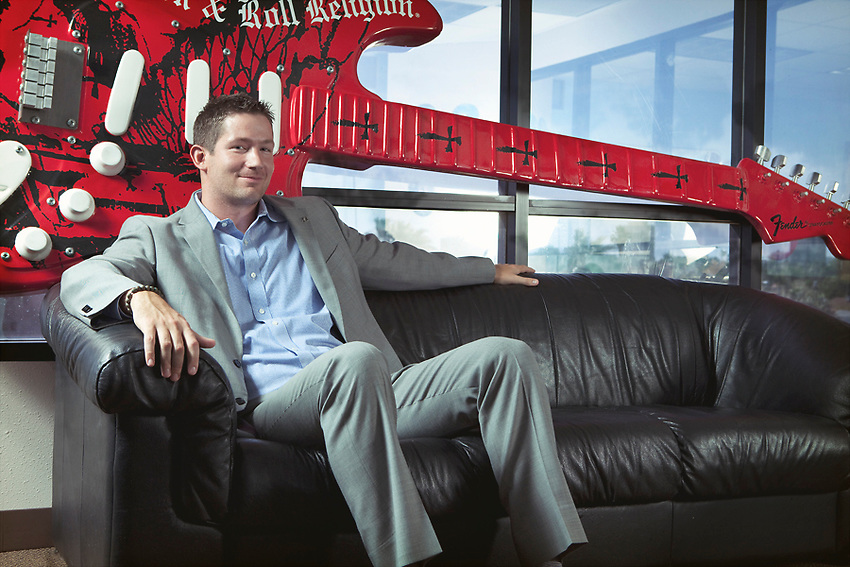 Pete Griffin, CEO Big Brothers and Big Sisters Arizona<br /> <br /> Shot for 944 Magazine