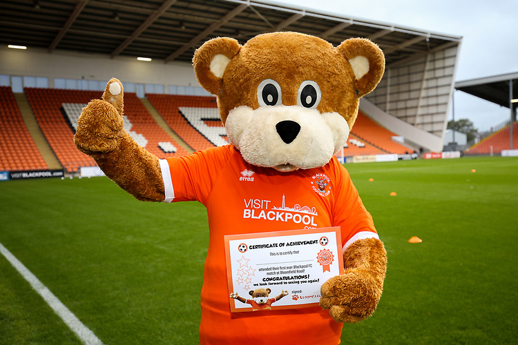 Photographer Alex Dodd/CameraSport<br /> <br /> EFL Leasing.com Trophy - Northern Section - Group G - Blackpool v Morecambe - Tuesday 3rd September 2019 - Bloomfield Road - Blackpool<br />  <br /> World Copyright © 2018 CameraSport. All rights reserved. 43 Linden Ave. Countesthorpe. Leicester. England. LE8 5PG - Tel: +44 (0) 116 277 4147 - admin@camerasport.com - www.camerasport.com