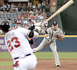 Masahiro Tanaka (Yankees),<br /> AUGUST 28, 2015 - MLB : Masahiro Tanaka of the New York Yankees pitches against Nick Swisher of the Atlanta Braves during the Major League Baseball inter league game at Turner Field in Atlanta, United States.<br /> (Photo by AFLO)