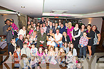 BAPTISED: Taylor Kate Leane daughter of Danny and Claire Leane Fairway Heights,Tralee who was baptised on Saturday in St John's Church Tralee and afterwards a reception was held in the Abbey Inn Tralee to mark Taylor Kate's christening..........