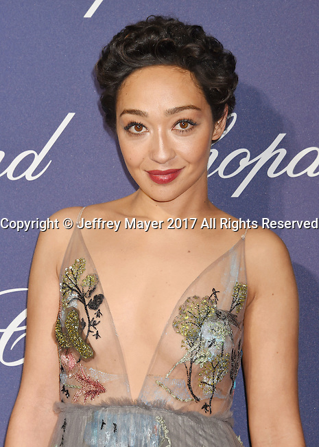 PALM SPRINGS, CA - JANUARY 02: Actress Ruth Negga attends the 28th Annual Palm Springs International Film Festival Film Awards Gala at the Palm Springs Convention Center on January 2, 2017 in Palm Springs, California.