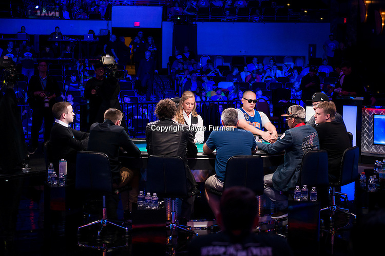Final Table and Theatre
