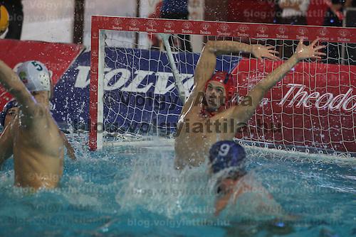 Final of the Men's Hungarian Cup water polo match in Budapest, Hungary on November 13, 2011. ATTILA VOLGYI