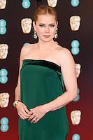 Amy Adams<br /> at the 2017 BAFTA Film Awards held at The Royal Albert Hall, London.<br /> <br /> <br /> &copy;Ash Knotek  D3225  12/02/2017