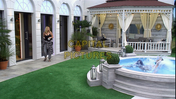 Celebrity Big Brother 2017<br /> Sarah Harding and Chad Johnson.<br /> *Editorial Use Only*<br /> CAP/KFS<br /> Image supplied by Capital Pictures