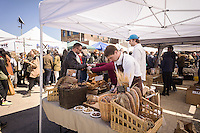 The Pain D'Avignon booth at the Smorgasburg in East River State Park in the Williamsburg neighborhood of Brooklyn in New York on Saturday, April 6, 2013. The marketplace features prepared and artisanal foods made in Brooklyn by small entrepreneurs. In the two years the market has been in operation it has provided a venue for numerous chefs and cooks to sell their wares, some of whom have grown into large successful businesses. (© Richard B. Levine)
