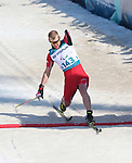 Pyeongchang, Korea, 14/3/2018-Mark Arendz competes in the cross country sprints during the 2018 Paralympic Games in PyeongChang. Photo Scott Grant/Canadian Paralympic Committee.