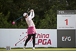 Golfer Rebecca Tsai of Taiwan during the 2017 Hong Kong Ladies Open on June 9, 2017 in Hong Kong, China. Photo by Chris Wong / Power Sport Images