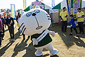 Mascot characters from across Japan gather at the World Mascot Character Summit held on November 22nd in Hanyu, Saitama Prefecture, Japan. This was the 5th time that the annual event has been held and mascots and fans travelled from many all over Japan to attend. Mascot characters are big business in Japan and many towns, regions and organizations, including the police and firefighters, have created their own characters within the last 5 years. (Photo by Martin Hladik/AFLO)