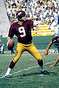 Washington Redskins Sonny Jurgensen (9) in action in  game against the Green Bay Packers at Lambeau Field in Green Bay, Wisconsin. Sonny Jurgensen was elected to the Pro Football Hall of Fame in 1983.