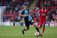 Luke O'Nien of Wycombe Wanderers goes on a run during the Sky Bet League 2 match between Leyton Orient and Wycombe Wanderers at the Matchroom Stadium, London, England on 19 September 2015. Photo by Andy Rowland.