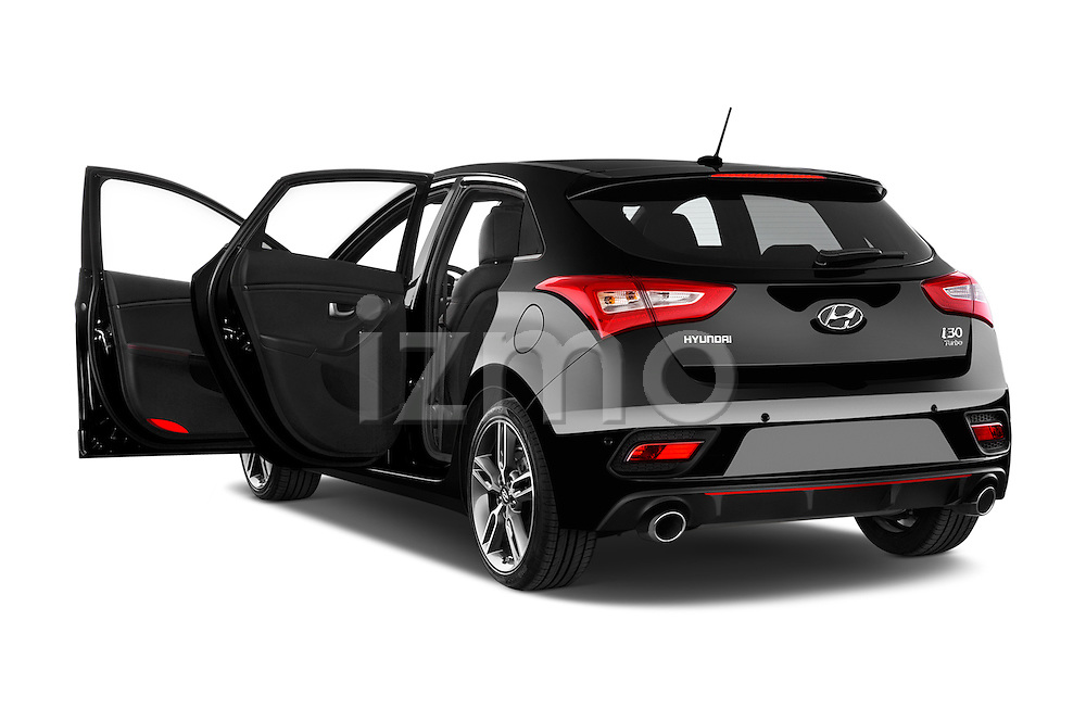 Car images close up view of 2015 Hyundai I30 Turbo 5 Door Hatchback doors