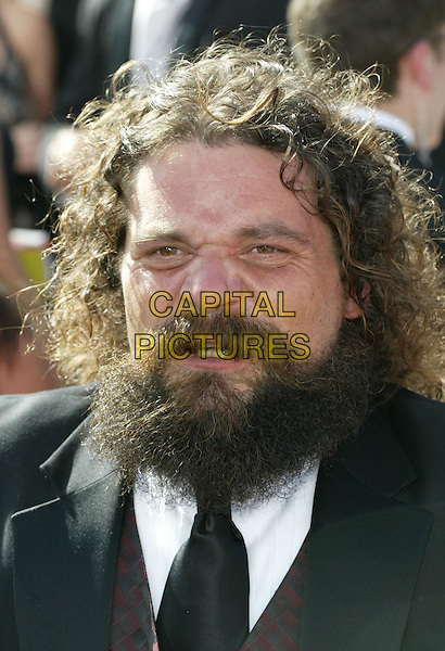 RUPERT BONEHAM.At the 56th Annual Prime Time Emmy Awards held the Shrine Auditorium, Los Angeles, CA, USA, .19th September, 2004..portrait headshot beard facial hair.Ref: ADM.www.capitalpictures.com.sales@capitalpictures.com.©Charles Harris/AdMedia/Capital Pictures .