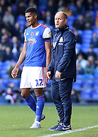Preston North End manager Alex Neil cuts a frustrated figure on the touchline<br /> <br /> Photographer David Shipman/CameraSport<br /> <br /> The EFL Sky Bet Championship - Ipswich Town v Preston North End - Saturday 3rd November 2018 - Portman Road - Ipswich<br /> <br /> World Copyright &copy; 2018 CameraSport. All rights reserved. 43 Linden Ave. Countesthorpe. Leicester. England. LE8 5PG - Tel: +44 (0) 116 277 4147 - admin@camerasport.com - www.camerasport.com