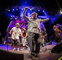 LAS VEGAS, NV - June 22, 2016: ***HOUSE COVERAGE*** George Clinton and Parliament Funkadelic perform at Brooklyn Bowl at The Linq in Las vegas, NV on June 22, 2016. Credit: Erik Kabik Photography/ MediaPunch