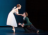 The Royal Danish Ballet soloists &amp; principals <br /> Bournoville Celebration <br /> at The Peacock Theatre, London, Great Britain <br /> press photocall<br /> 9th January 2015 <br /> <br /> La Sylphide <br /> <br /> <br /> Gudrun Bojesen as the Sylph <br /> Ulrik Birkkjaer as James<br /> <br /> <br /> <br /> <br /> Photograph by Elliott Franks <br /> Image licensed to Elliott Franks Photography Services
