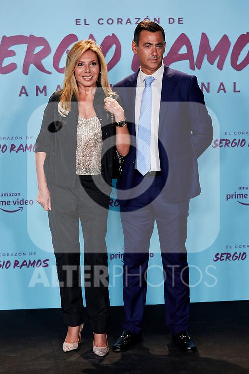 """Maribel Yebenes attends to """"El Corazon De Sergio Ramos"""" premiere at Reina Sofia Museum in Madrid, Spain. September 10, 2019. (ALTERPHOTOS/A. Perez Meca)"""