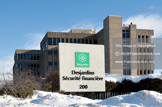Desjardins Securite financiere headquarters is pictured in Levis January 4, 2010.