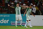 Atlético Nacional venció como local 3-2 (6-3, en el global) a Jaguares. Cuartos de final Liga Águila I-2017.