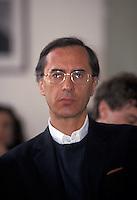 SERGIO CUSANI consulente Montedison, condannato per maxitangente Enimont<br /> SERGIO CUSANI Montedison adviser, convicted for a maxibribe to Enimont