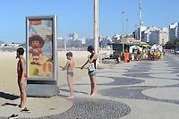 RIO DE JANEIRO-05 julho 2012 - Movimentacao Praia de Copacabana que completa  120 anos de Copacabana, na zona sul do Rio de Janeiro, nesta quinta-feira. Foto:Marcelo Fonseca-Brazil Photo Press
