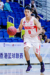 Ho Yee Fu #9 of Nam Ching Basketball Team dribbles the ball up court against the HKPA during the Hong Kong Basketball League game between Nam Ching and  HKPA at Southorn Stadium on June 12, 2018 in Hong Kong. Photo by Yu Chun Christopher Wong / Power Sport Images