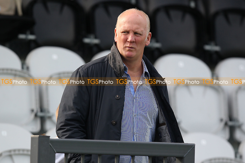 Iain Dowie, father of Natasha Dowie of Liverpool Ladies, looks on during the game - Arsenal Ladies vs Liverpool Ladies - FA Womens Super League Football at Meadow Park, Boreham Wood FC  - 05/10/14 - MANDATORY CREDIT: Gavin Ellis/TGSPHOTO - Self billing applies where appropriate - contact@tgsphoto.co.uk - NO UNPAID USE