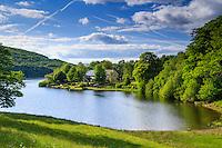 France, Creuse (23), lac de Vassivière