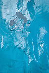 Closeup of upside-down Iceberg, LeConte Glacier, Alaska