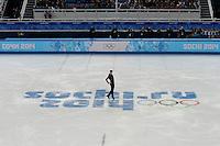 SOCHI, RUSSIA, 06.02.2014 - JOGOS OLIMPICOS DE INVERNO / SOCHI 2014 / PATINACAO ARTISTICA -  Evgeny Plyushchenko da Russia durante apresentação na competição de Patinacao Artistica solo masculina nas Olimpiadas de Inverno na Valtins Arena em Sochi na Russia, nesta quinta-feira, 06. (Foto: Malte Christians / Brazil Photo Press).