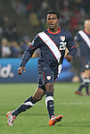 12 JUN 2010: Robbie Findley (USA). The England National Team played the United States National Team to a 1-1 tie at Royal Bafokeng Stadium in Rustenburg, South Africa in a 2010 FIFA World Cup Group C match.