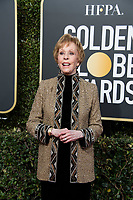 Golden Globe honoree Carol Burnett attends the 76th Annual Golden Globe Awards at the Beverly Hilton in Beverly Hills, CA on Sunday, January 6, 2019.<br /> *Editorial Use Only*<br /> CAP/PLF/HFPA<br /> Image supplied by Capital Pictures