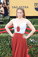 Anna Chlumsky at the 2015 Screen Actor Guild Awards at the Shrine Auditorium on January 25, 2015 in Los Angeles, CA David Edwards/DailyCeleb.com 818-249-4998