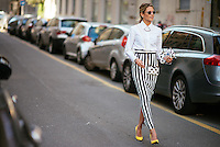 Milan Fashion Week Street Style: Part 3