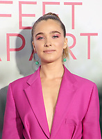 LOS ANGELES, CA - MARCH 7: Haley Lu Richardson, at The Premiere Of Lionsgate's &quot;Five Feet Apart&quot; at The Fox Bruin Theatre in Los Angeles, California on March 7, 2019. <br /> CAP/MPI/SAD<br /> &copy;SAD/MPI/Capital Pictures
