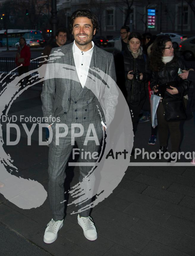 Spanish actor Alex Garcia