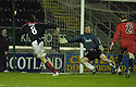13/01/2007       Copyright Pic: James Stewart.File Name : sct_jspa06_falkirk_v_dunfermline.ALAN GOW SCORES FALKIRK'S LATER WINNER.....James Stewart Photo Agency 19 Carronlea Drive, Falkirk. FK2 8DN      Vat Reg No. 607 6932 25.Office     : +44 (0)1324 570906     .Mobile   : +44 (0)7721 416997.Fax         : +44 (0)1324 570906.E-mail  :  jim@jspa.co.uk.If you require further information then contact Jim Stewart on any of the numbers above.........