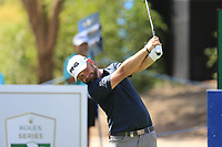 Andy Sullivan (ENG) on the 13th during the 1st round of the DP World Tour Championship, Jumeirah Golf Estates, Dubai, United Arab Emirates. 15/11/2018<br /> Picture: Golffile | Fran Caffrey<br /> <br /> <br /> All photo usage must carry mandatory copyright credit (© Golffile | Fran Caffrey)