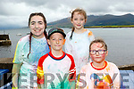 Red, Blue how did ye Do<br /> ---------------------------------<br /> Pictured at the finish of the Fun run fundraiser last Sunday at Brandon pier were l-R Holly O'Donnell, Max, Eva&amp;Violet Browne.