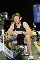 Birmingham, Great Britain, Men's Student Hwt, Bronze medallist, Deaglan McEACHERN, CUBC, competing at the 2008 British Indoor Rowing Championships, National Indoor Arena. on  Sunday 26.10.2008 . [Photo, Peter Spurrier/Intersport-images] ..