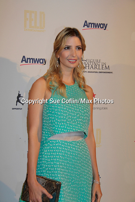 Ivanka Trump - 10th Annual Gala celebrating Figure Skating in Harlem's 18th year of operations at The Stars 2015 Benefit Gala on April 13, 2015 in New York City, New York honoring Olympic Champion Evan Lysacek, Gloria Steinem and Nicole, Alana and Juliette Feld with Mary Wilson as Mistress of Ceremony. (Photos by Sue Coflin/Max Photos)