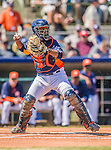 7 March 2013: Houston Astros catcher Carlos Corporan in action during a Spring Training game against the Washington Nationals at Osceola County Stadium in Kissimmee, Florida. The Astros defeated the Nationals 4-2 in Grapefruit League play. Mandatory Credit: Ed Wolfstein Photo *** RAW (NEF) Image File Available ***