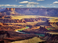 Green River from Green River Overlook. Canyonlands Nationla Park, Utah.