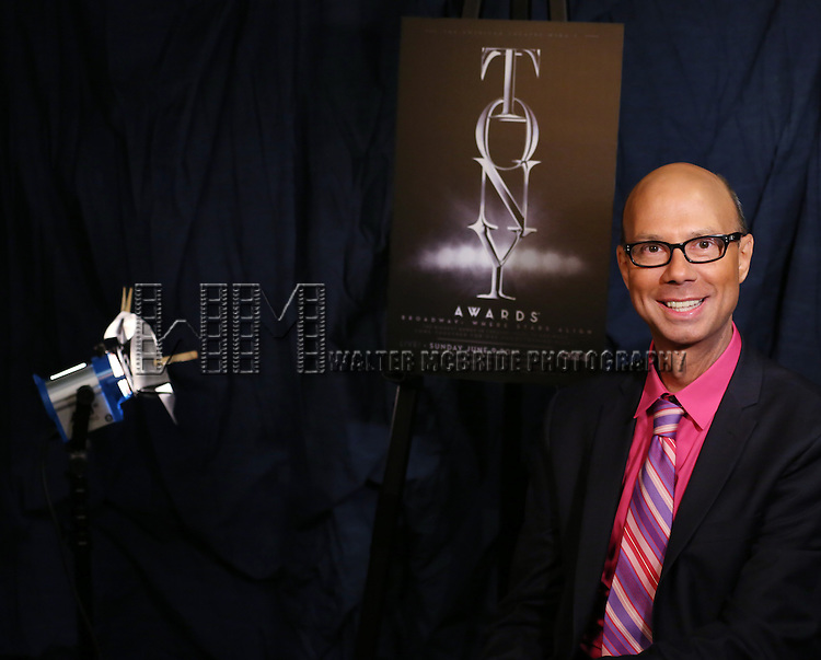 Richard Ridge  'In The Spotlight' at the 2013 Tony Awards Meet The Nominees Junket  at the Millennium Broadway Hotel in New York on 5/1/2013...