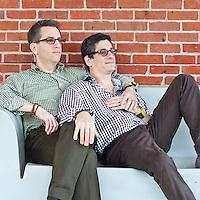 Carl & Sam Holiday Card 2011
